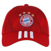 Boné Aba Curva Bayern De Munique 3S Adidas - Strapback - Adulto - Vermelho  Branco d42f4095072ff