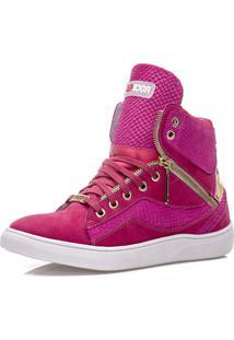 Tênis Sneaker Rockfit Hole Rosa