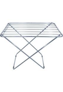 Varal De Chão Dobrável Zaka Até 15 Kg Em Alumínio
