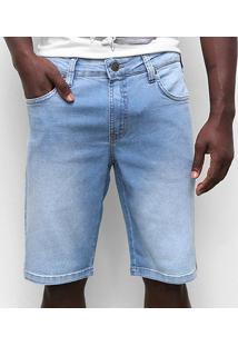 Bermuda Jeans Colcci Noah Masculino - Masculino-Azul