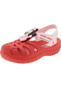Clog Infantil Classicos Disney Grendene Kids - 21870 Vermelho