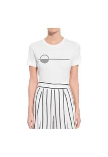 Camiseta Forseti Confort Sunset Branca