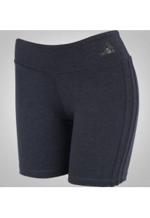 Bermuda Adidas Vwo Tight - Feminina - Cinza Escuro