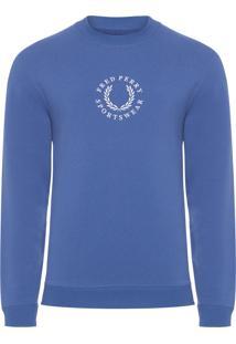 Blusa Masculina Branded Sweatshirt - Azul