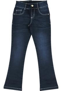 Calça Jeans Flare Ser Garota Jeans - Tricae