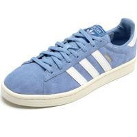 26c6de7f4e2 Dafiti. Tênis Couro Adidas Originals Campus W Azul