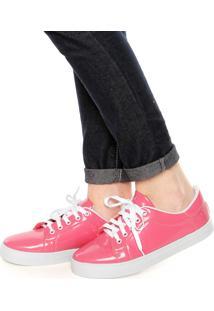 Tênis Dafiti Shoes Verniz Rosa