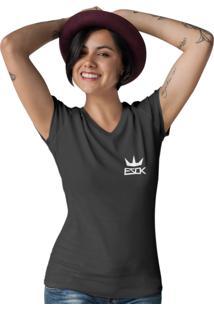Camiseta Ezok Gola V King Preto