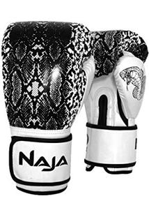 4cbbf530d6 Luva De Boxe Animal Print Cobra Pérola - Naja - 10 Oz