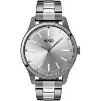 248a5c80cf1 Relógio Hugo Boss Masculino Aço Cinza - 1530021