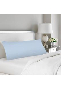 Fronha Para Travesseiro De Corpo Xuxão Casa Dona 200 Fios Com Zíper Branco