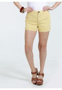 Short Feminino Sarja Cintura Alta Marisa