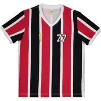 Camisa São Paulo 1977 Retrô Juvenil - Masculino b535c671a865f
