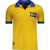 Camisa Suécia Retrô Masculina - Masculino e42785501f6e9