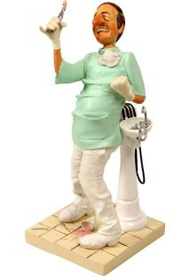 Escultura Decorativa De Resina O Dentista
