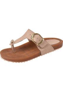 Sandália Raniel Calçados Birken Taupe