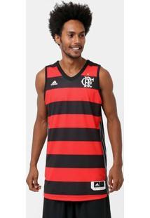 Camiseta Regata Adidas Flamengo 1 - Masculino