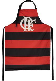 Avental Flamengo Listrado Impermeável