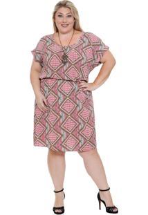 Vestido Feminino Plus Size Marisa