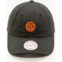 Boné Mitchell   Ness Chukker Nba New York Knicks Aba Curva - Unissex 8ae1a20f02c