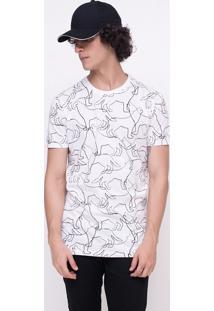 Camiseta Alongada Lobos