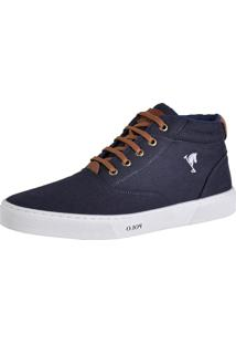 Bota Polo Joy Attractive Azul-Marinho