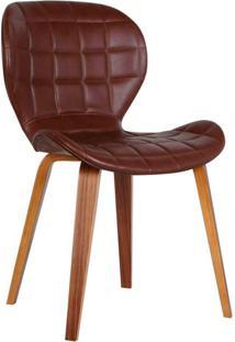 Cadeira Lucia Marrom Escuro