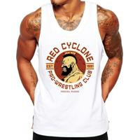 3c766bd777 Camiseta Regata Criativa Urbana Fitness Red Cyclone - Masculino