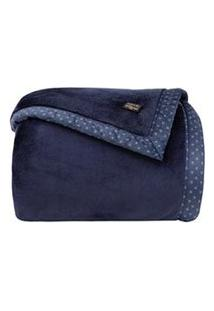 Cobertor Queen Size Blanket 700 Marinho - Kacyumara