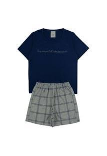 Conjunto Pijama Menino Rotativo