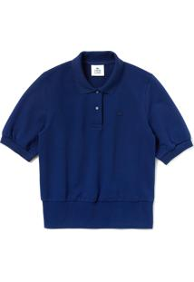 Polo Lacoste Live Relax Fit Azul