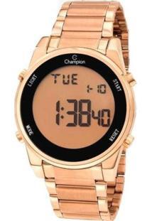 Relógio Champion Digital Ch40071X Feminino - Feminino-Rosa