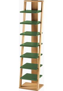 Prateleira Stairway Verde Musgo Laca M284