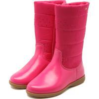 ae8f14b4c25f6a Bota Para Menina Conforto Rosa Ziper infantil   Shoes4you
