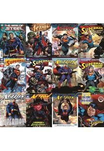 Papel De Parede Adesivo Revistas Super Homem (0,58M X 2,50M)