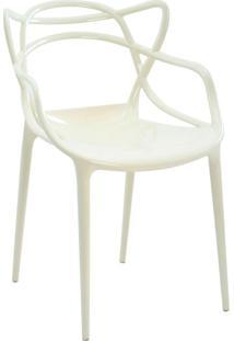 Cadeira Policarbonato Allegra -Rivatti - Branco