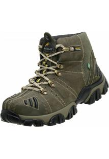 Bota Adventure Alcalay Bufalo Oliva