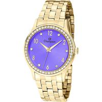 31bdf45d8c6 Relógio Champion Analógico Cn28982D Feminino - Unissex-Dourado