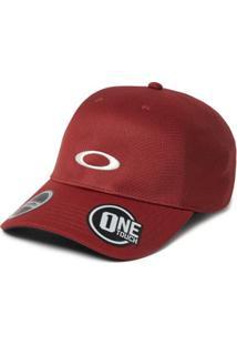 06ad934f45 Boné Oakley Tech Cap Blackout - Masculino-Vermelho