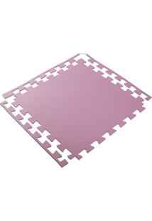 Tapete Tatame Eva Loja Da Maria 100X100X1Cm 10Mm Rosa Pink