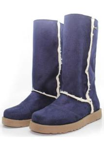 Bota Barth Shoes Valle Nevado Marinho - Feminino-Azul+Marinho