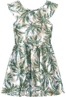 Vestido Verde Detalhe Costas