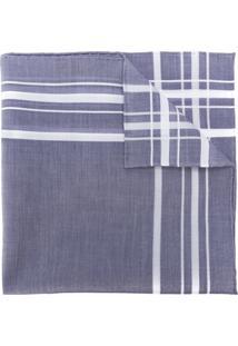 Simonnot Godard Cachecol Xadrez - Azul