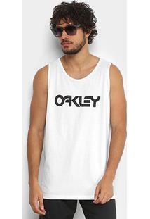 Regata Oakley Mark Ii Tank Masculina - Masculino-Branco