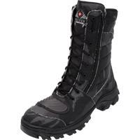 Coturno Cinza Militar masculino   Shoes4you 59dfe19063