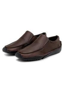 Sapato Em Couro Hayabusa Duna 20 Café