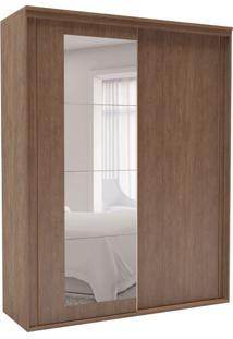 Guarda-Roupa Solteiro Inovatto Com Espelho 3 Pt 3 Gv Ébano