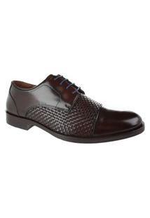 Sapato Social Constantino Color Marrom