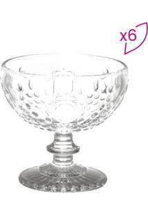 Jogo De Taças Coupe Para Champagne Olimpo- Incolor- Lyor