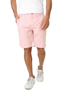 Bermuda Sarja Calvin Klein Jeans Chino Lisa Rosa